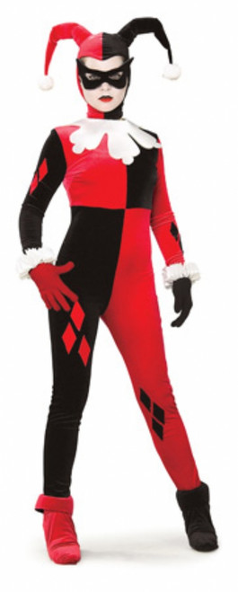 Harley Quinn Super Villain Ladies Costume