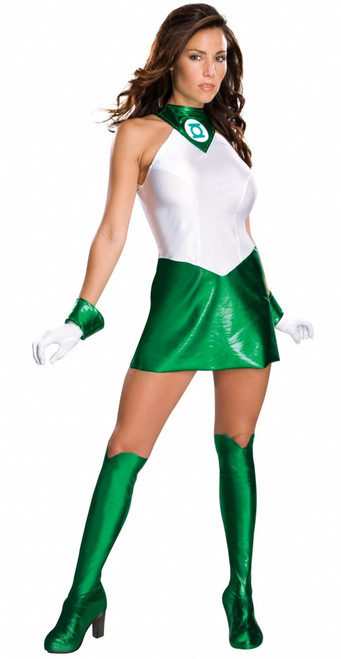 Green Lantern Ladies Super Hero Costume
