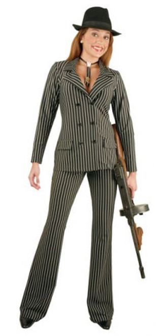 20s Sophisticated Gangster Moll Suit Costume