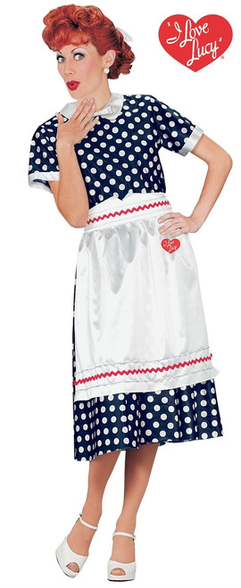I Love Lucy 1950s Costume Dress