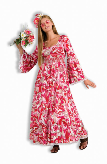 Flower Child Hippie Halloween Dress