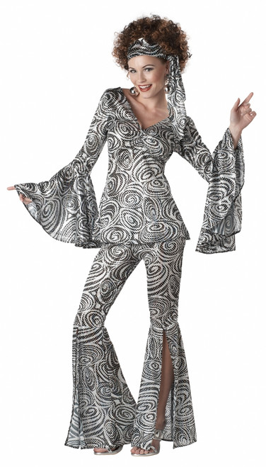 Foxy Lady 70s Disco Halloween Costume
