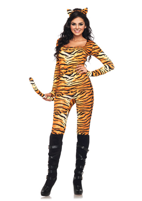 Wild Tigress Catsuit Costume