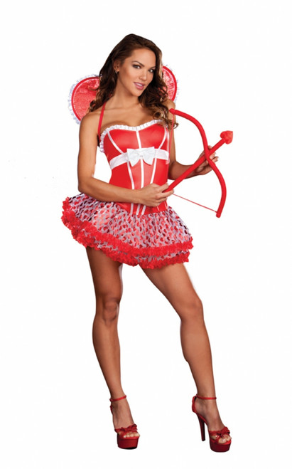 Pucker Up Valentine's Cupid Costume