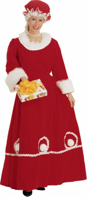 Deluxe Mrs.Claus Christmas Costume