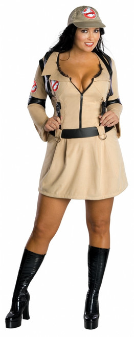 Ghostbusters-Lady Costume - Plus Size