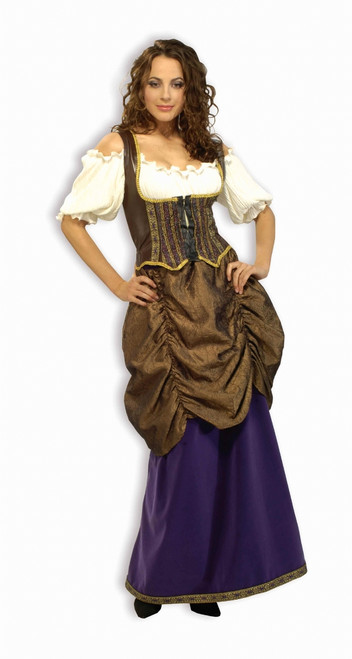 Deluxe Pirate Wench Costume - Plus Size