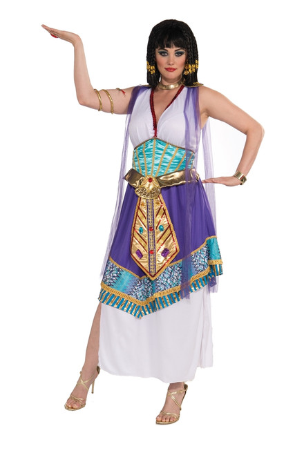 Plus Sized Egyptian Lotus Cleopatra Costume