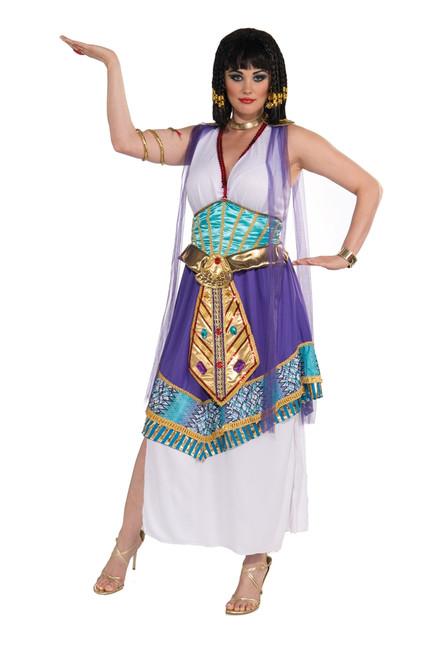 Plus Sized Egyptian Lotus Cleopatra Costume