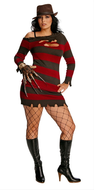 a70c0973e7d Sexy Miss Krueger Plus Size Costume
