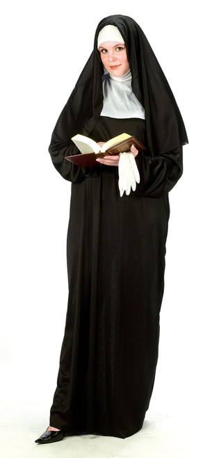 Mother Superior Nun, Plus Size
