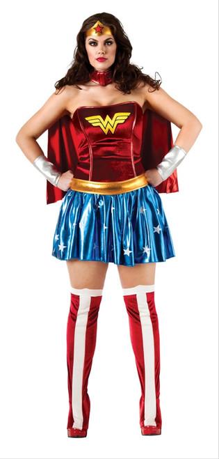 Classic Wonder Woman Costume - Plus Size