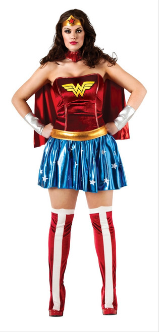 Classic Wonder Woman Costume - Plus Size
