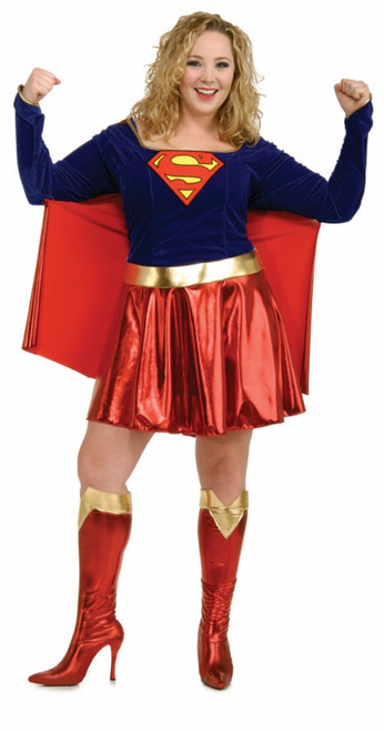 Supergirl Costume - Plus Size