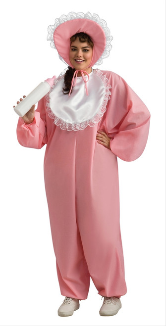 Baby Girl Adult Costume - Plus Size