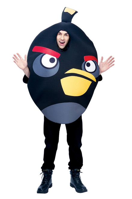 Angry Birds Bomb, the Black Bird Adult Costume