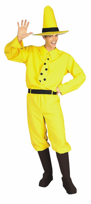 Man In Yellow Hat Curious George Costume