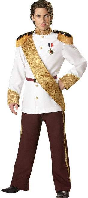 Royal Prince Charming Deluxe Costume