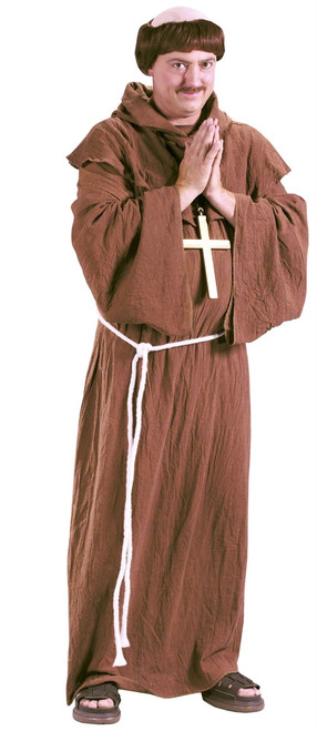 Medieval Monk Adult Halloween Costume