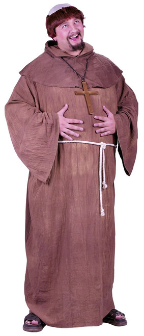 Medieval Monk X-Large Halloween Costume
