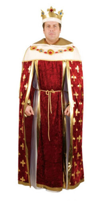 Majestic King Robe Costume