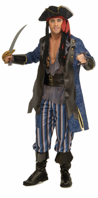 Men's Pirate Ship Captain Costume