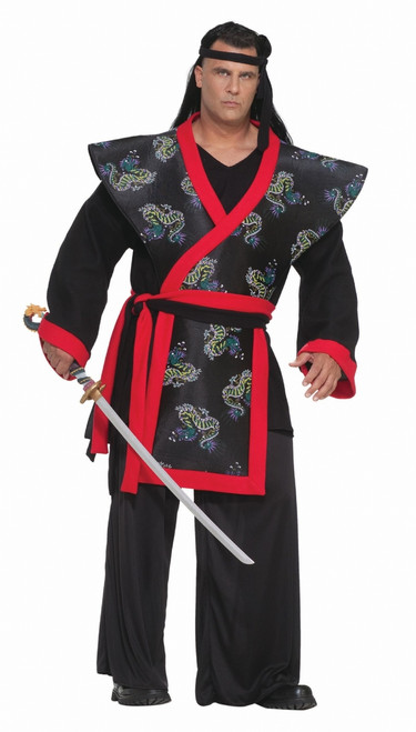 Super Samurai Men's Plus Costume