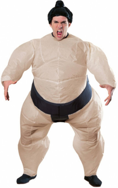 Funny Inflatable Sumo Wrestler Halloween Costume