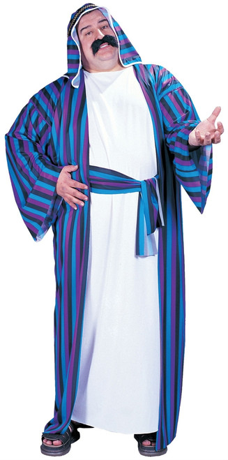 Sheik Middle Eastern Arab Robe Plus Costume