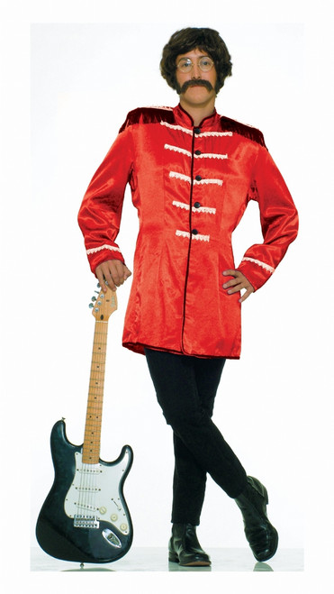 Red Beatles Sgt Pepper Men's Halloween Costume