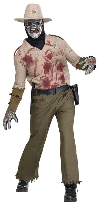 Undead Zombie Sheriff Men's Costume