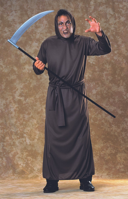 Scary Halloween Horror Costume Robe Black