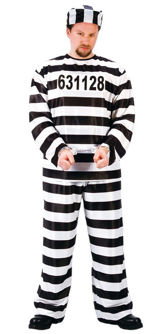 Jail Convict Halloween Costume