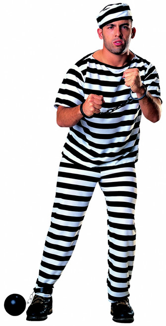 Prisoner Convict Halloween Costume