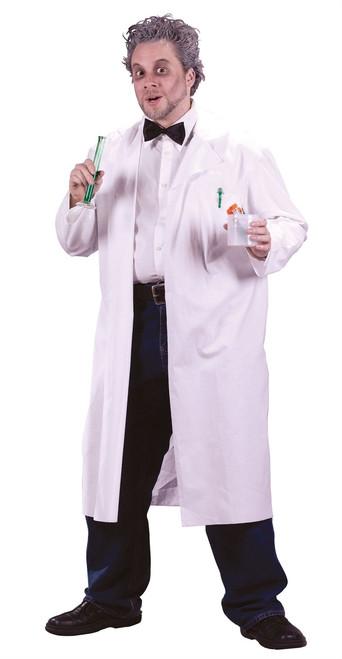 Men's Mad Scientist Lab Coat Costume