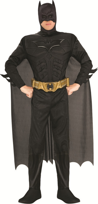 Dark Knight Batman Muscle Mens Costume