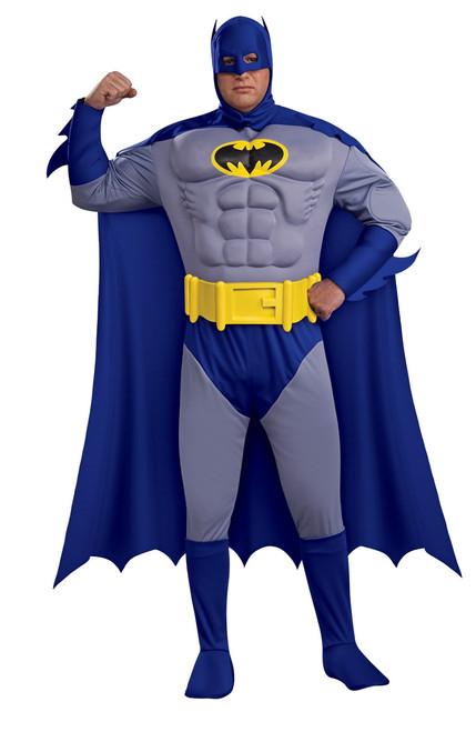 Muscle Plus Size Batman Costume