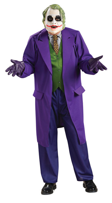 Deluxe Joker Dark Knight Costume - Plus Size