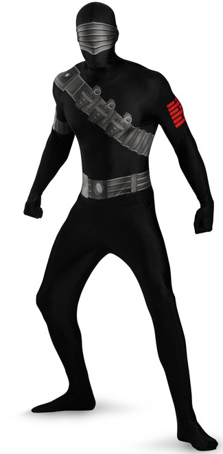 Snake Eyes G.I. Joe Skin Suit Costume