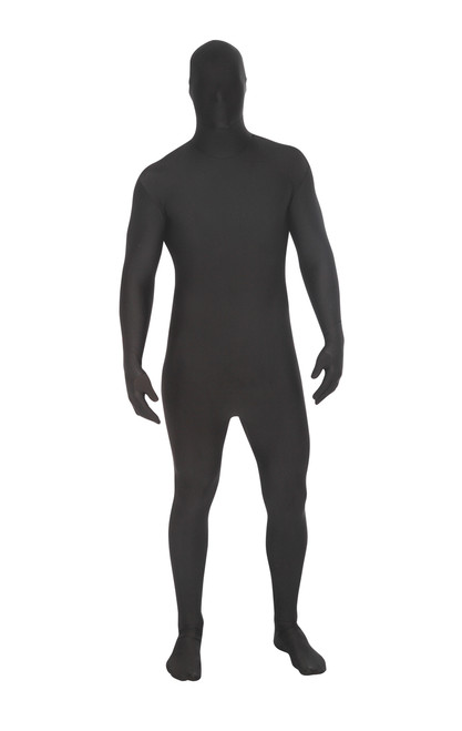 Black Morphsuit Full Body Costume