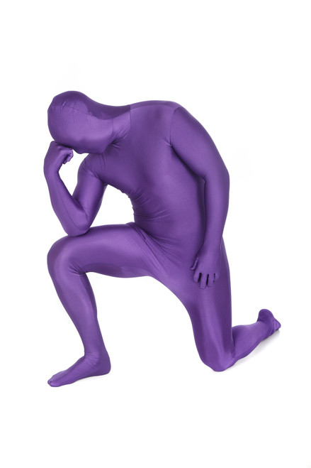 Purple Morphsuit Full Body Costume