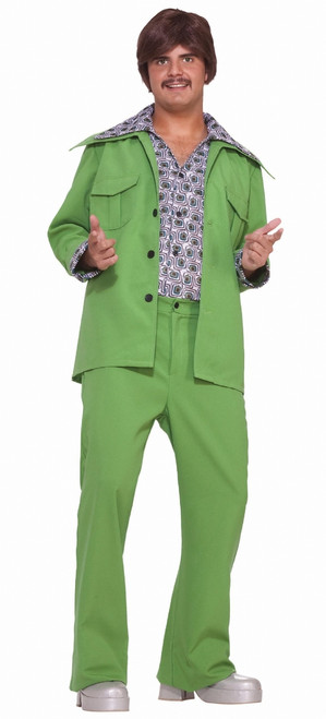 70s Green Leisure Suit