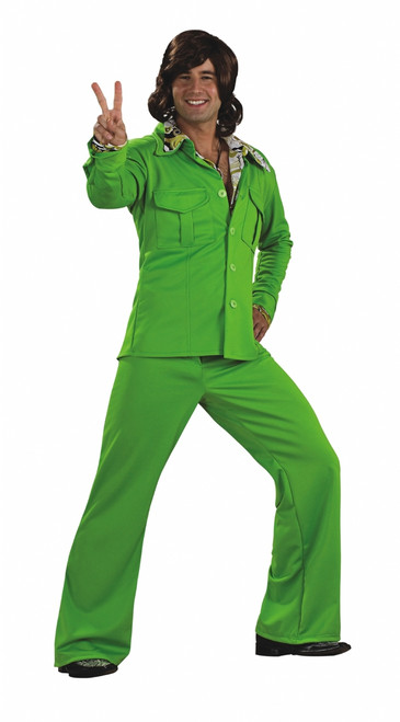 70s Lime Leisure Suit Costume