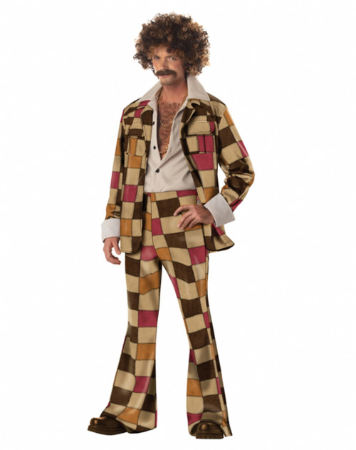Disco Sleazeball 70s Costume