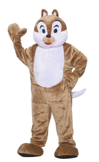 Plush Chipmunk Mascot Costume