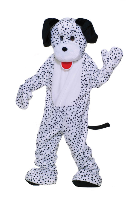 Dalmatian Puppy Dog Mascot Costume