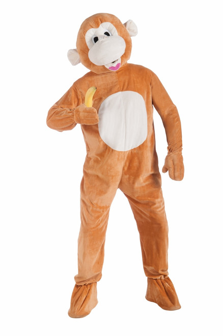 Plush Monkey Mascot Costume
