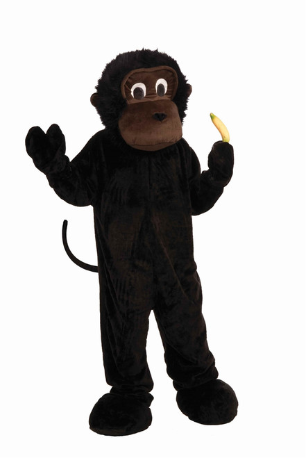 Men's Deluxe Plush Gorilla Costume