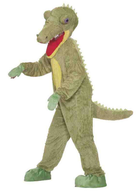 Plush Crocodile Mascot Costume
