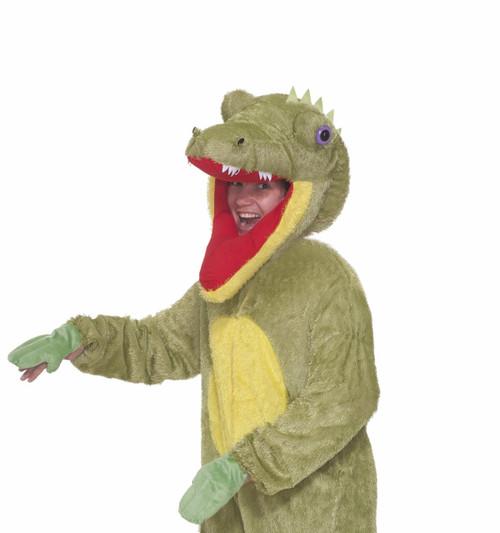 Plush Crocodile Mascot Costume 2